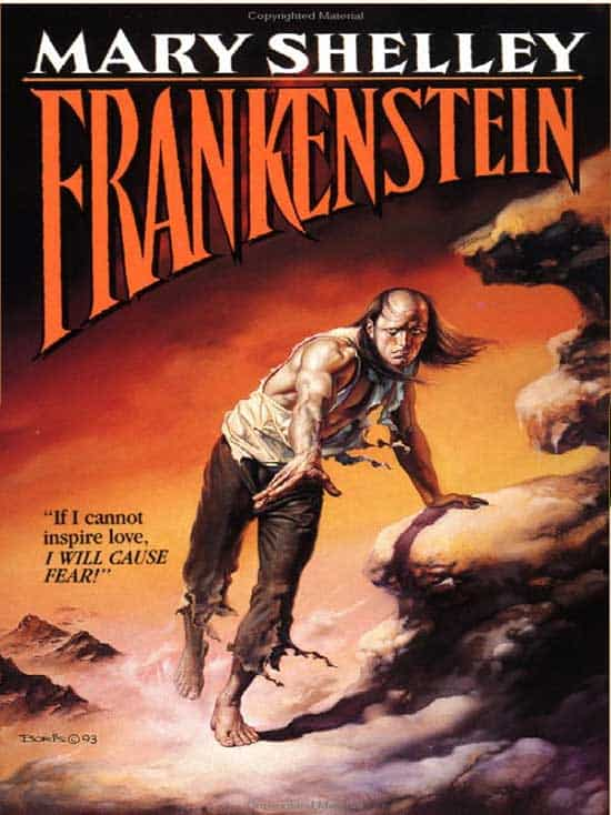 Frankenstein the book